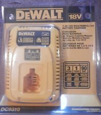 Dewalt DC9310 7.2 - 18V NiCd Li-ion Battery Charger New for DC9180 DC9181 DC9096