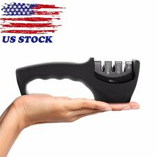 Stable Ease Handle 3-stage Kitchen Knife Sharpener Household Cutlery Sharpening