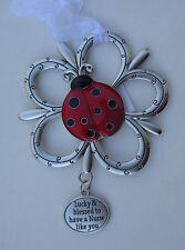aa Lucky blessed to have nurse like you LOVING LITTLE LADYBUGS ORNAMENT ladybug