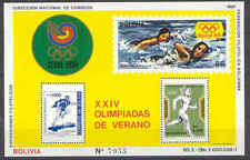 Olympiade 1988, Olympic Games - Bolivien - Bl.166 ** MNH