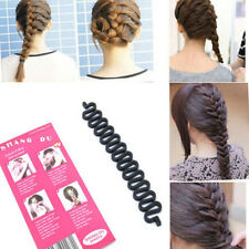 Hot Details French hair braiding tool roller with hook Magic hair Twist Styling