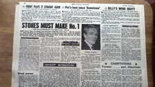 ROLLING STONES '19th Nervous' single review 1966 UK ARTICLE / clipping