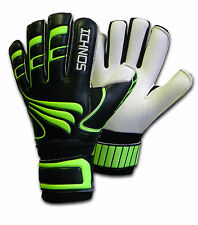 ICHNOS ARTEMIS FOOTBALL FINGERSAVE GOALIE GOALKEEPER GLOVES YOUTH SIZE 5