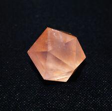 Petit Icosaedre Quartz Rose Solide de Platon
