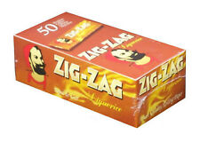 ZIG ZAG LIQUORICE BROWN PAPERS 50 BOOKLETS SAMEDAY