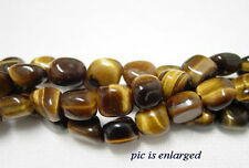 Semi Precious Tigers Eye Nugget Beads Stones