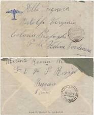 FRANCHIGIA PRO ALLUVIONATI DA CARMIGNANO DI BRENTA X PORDENONE 17/1/1952
