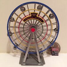 Z Scale RAINBOW FERRIS WHEEL (fully assembled & painted) for Carnival layout
