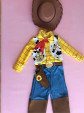 Toy Story Woody Costume & Hat & Sheriff Badge age 3/4  years