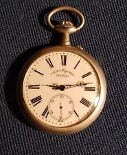 Antique rare Doxa Anti-Magnetique Giant  Extra Large Pocket Watch