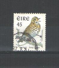 R1382 - IRLANDA 1998 - UCCELLI  TORDO N. 1061A - MAZZETTA DA 20 - VEDI FOTO