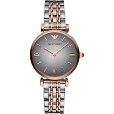 ** NEW ** Emporio Armani® watch AR1725 Ladies Classic Grey with gold