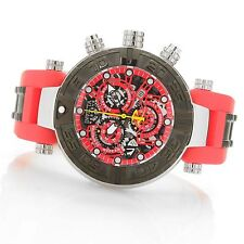 Invicta Reserve 47mm Subaqua Noma I Limited Edition Swiss Made Red 19589