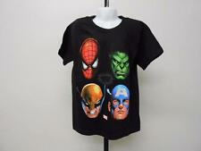 NEW MARVEL WOLVERINE SPIDERMAN HULK CPT AMERICA KID KIDS  5/6 T-SHIRT