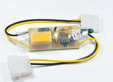 Automatic PC FAN 12VDC 1A On-Off by temperature control 10'C - 70'C PCB board