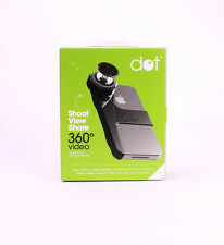 Kogeto Dot 360 Degree Panoramic Camera Video Lens for iPhone 4/4S Black NEW