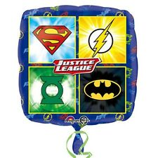 Justice League Emblems Standard Foil Balloons  Birthday Party Decoration