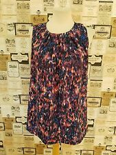 NEW LOOK MATERNITY SIZE 12 MULTI COLOURED TOP EXCELLENT CONDITION