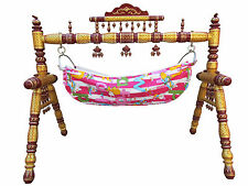 Baby Cradle Wooden Baby Swing Folding Cradle Strong wooden Cradle Babycare Item