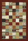 Multi Colour Modern CLASSIC ABSTRACT ETHNIC Design RUG RUNNER S - XL SIZE 25%OFF