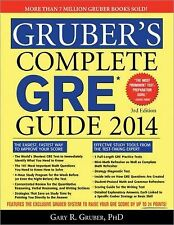 Gruber's Complete GRE Guide 2014, Gruber, Gary, New Books