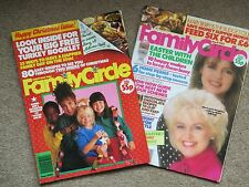 Vintage Dec 1986 & April 1987 FAMILY CIRCLE Magazines Birthday Anniversary Gift!