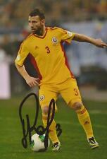 ROMANIA: RAZVAN RAT SIGNED 6x4 ACTION PHOTO+COA