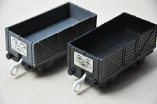 THOMAS CARRIAGES for TRACKMASTER TRAIN - 2 TROUBLESOME TRUCKS - Diesel 10 Lady