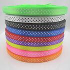 10Yards 3/8 9mm Polka Dot Ribbon Satin Craft Supplies pick lots colors craft NEW