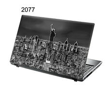 "Taylorhe de 15,6 ""Laptop Vinilo Skin Sticker Calcomanía De Nueva York Paisaje 2077"
