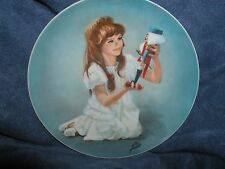 """""""Clara and Nutcracker"""",Shell Fisher,1st """"NutcrackerBallet Plate Collection"""""""