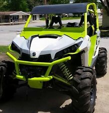 Can Am UTV front bumper with winch mount, fit Maverick, by Rage Fab