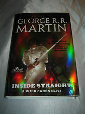 Inside Straight A Wild Card Novel George R R Martin SIGNED x7 2008 1st/1st HCDJ