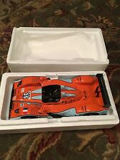 SPARK 1/18 Pescarolo-Judd BMW LMP2 - OAK Racing Gulf Colors - Le Mans 2011