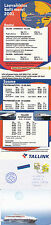 FINISH FERRY AUTO EXPRESS A SHIPS CACHED COVER A LETTER & 2001 TIMETABLE