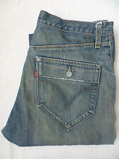 LEVI'S TYPE 10131 TWISTED ENGINEERED JEANS W36 L34 BLUE STRAUSS LEVG088
