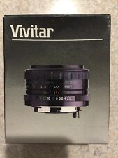 Vivitar 24mm f/2.8 Macro 1:5X M/MD Nos New Old Stock Camara Lens