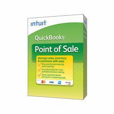 Intuit QuickBooks Point of Sale POS 2015 V12.0 Basic  Software  - FREE HARDWARE*