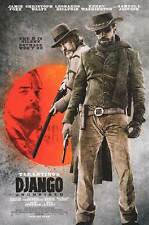 Django Unchained - original DS movie poster  D/S 27x40 INTL B