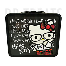 Hello Kitty I Love Nerds School Chalkboard Lunchbox by Loungefly NEW!