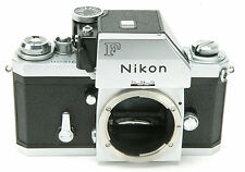 Nikon F Chrome Body #7222219 With Photomic. Work. Clean.