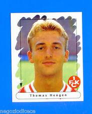 FUSSBALL BUNDESLIGA 1995-96 Figurina Sticker n. 82 - HENGEN -KAISERSLAUTERN-New