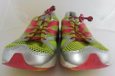 Newton Mens 00509 Distance Neutral Racer Running Shoes Lime/Red Size 12.5 M