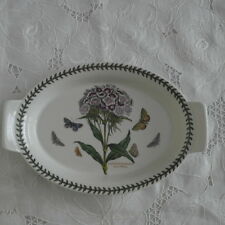 "REDUCED!! Portmeirion Botanic Garden Sweet William 11""Au Gratin Dish/Baker"