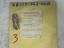 NOS Honda OEM Ratched Guide Plate 28259-362-000 XL175
