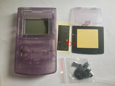 I Transparent Full Housing Shell Case Cover Part for Nintendo GBC Gameboy Color