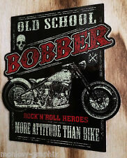 "Rockabilly / Bobber / Oldschool Sticker "" Old School Bobber  "" Aufkleber Biker"