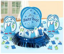 Shower with Love Baby Boy Shower Table Decorating Kit Party Supplies ~ 23pc