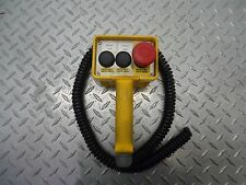 HAND HELD REMOTE PUSH BUTTON STATION* E-STOP* FORWARD* REVERSE*