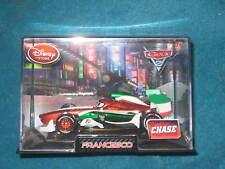 DISNEY STORE FRANCESCO Chase in Hard Plastic Case (PIXAR CARS 2)  BRAND NEW.